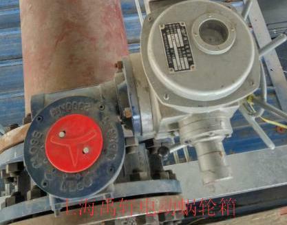 YFQDX3-D5阀门电动减速机,DN400电动蝶阀执行器