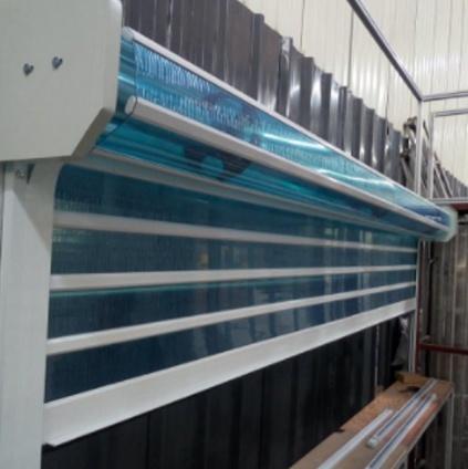 透明水晶卷帘门厂家直销安装步骤介绍
