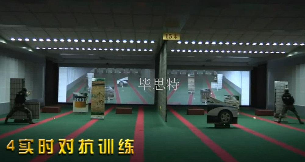 场自动报靶器系统模拟影像战术训练系统靶场设备