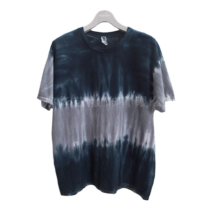 华艺扎染 纯手工艺术染整厂家加工定制成衣染色加工