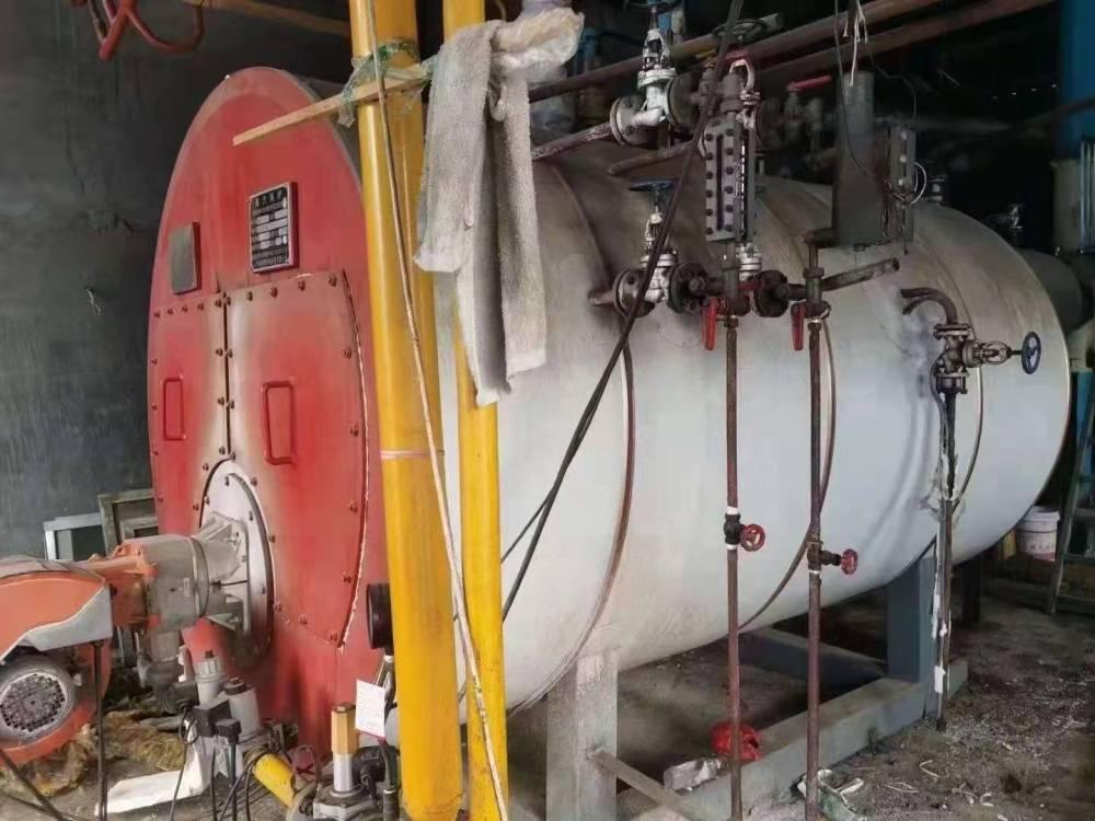 出售17年2吨燃气蒸汽锅炉 二手燃气锅炉2吨燃气锅炉
