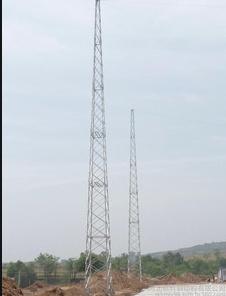 18米环形钢管避雷针 GH系列避雷塔 热镀锌避雷线塔-河南扬博科技