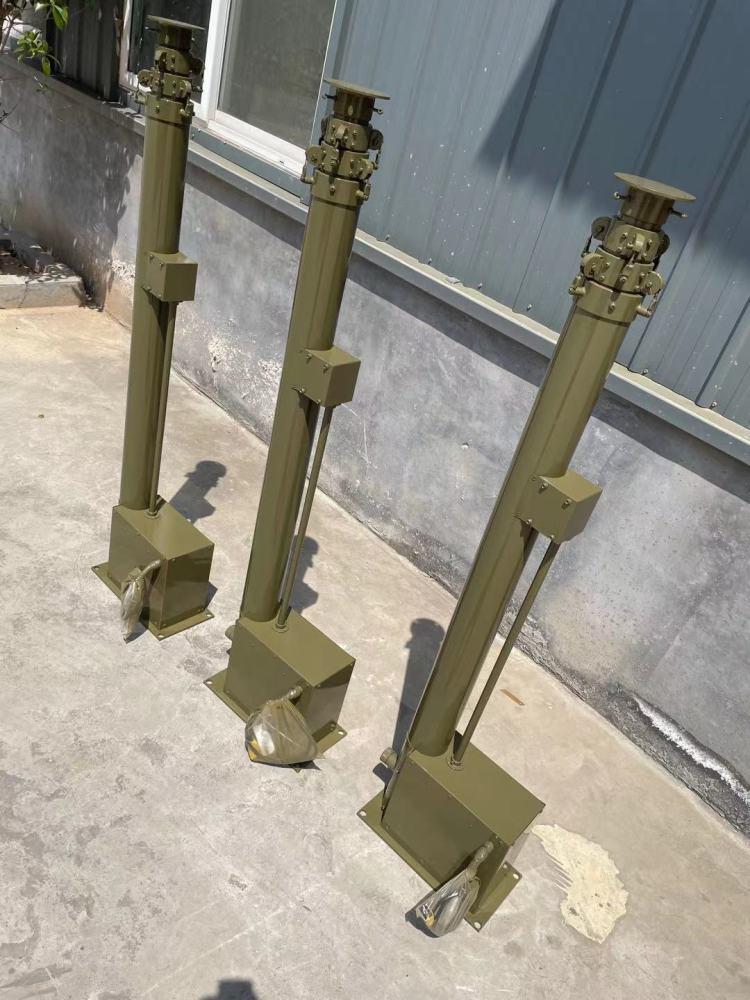 碳纤维自动升降避雷针监控 10米电动升降杆车载天线桅杆 通讯天线杆