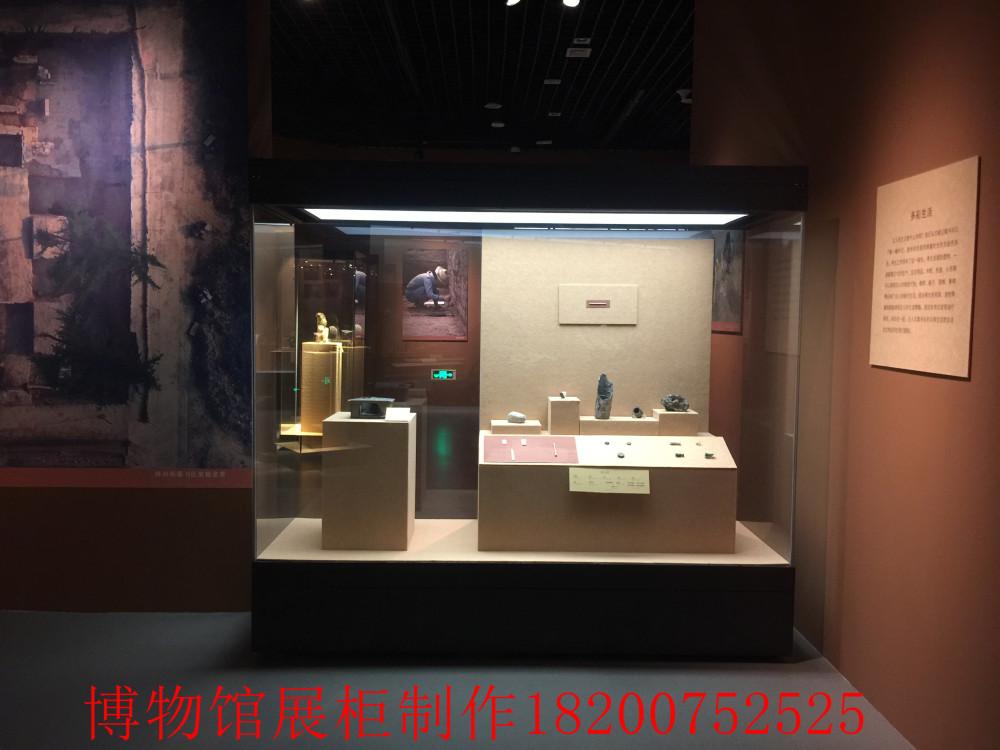 深圳展柜厂 博物馆展柜制作工厂 文物展柜设计公司