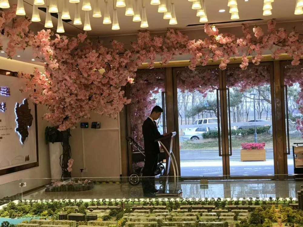 东城区仿真樱花树、诗茵商贸、仿真樱花树