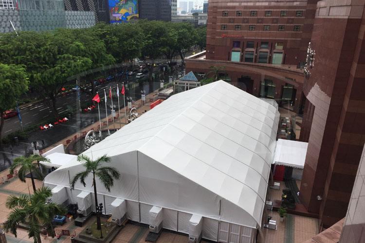 福建婚礼篷房广州展览帐篷出租定做山郑篷房厂直营