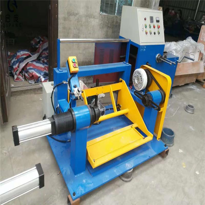 放线机 800线材放线机  钢丝绳磁粉刹车放卷机