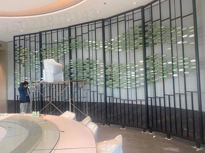 合肥工厂供应陶瓷算盘景墙雕塑 酒店大厅造景装饰