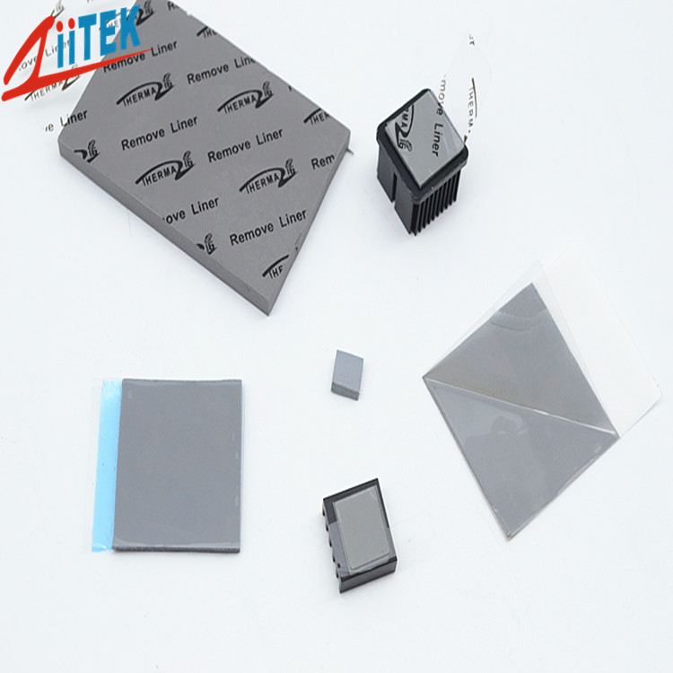 导热硅胶垫片双面背胶与单面背胶的区别!