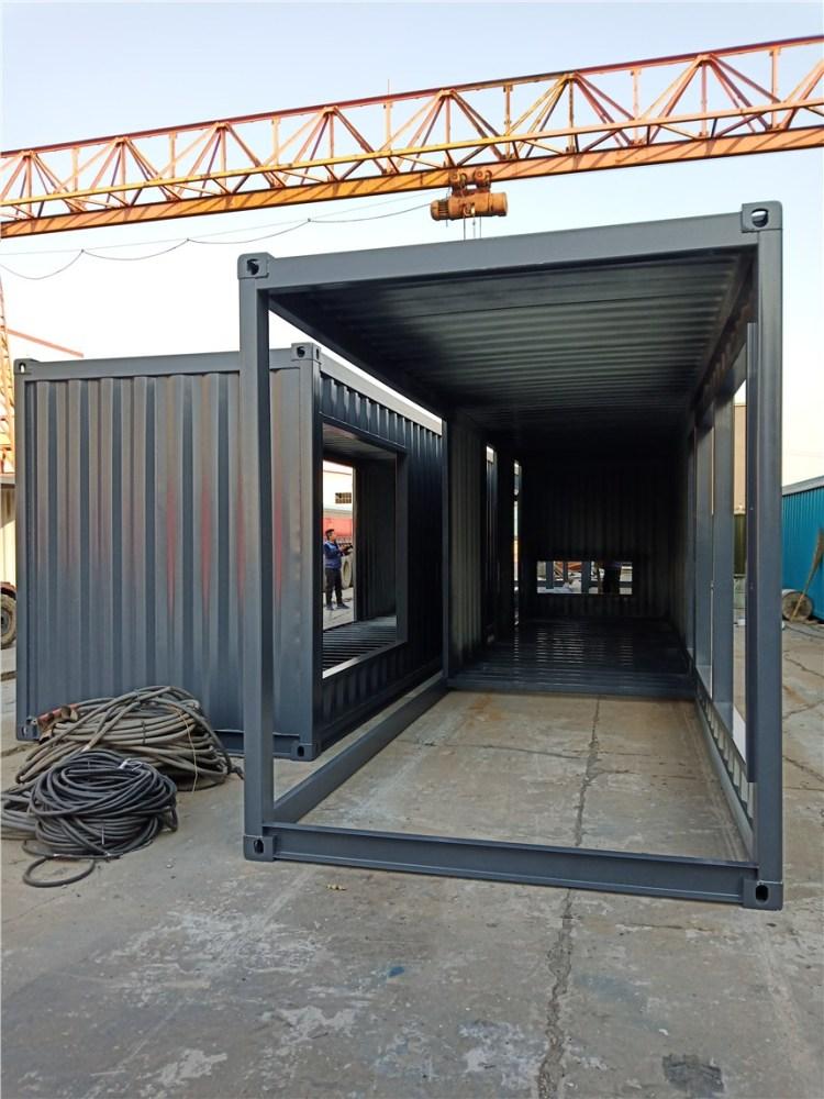 专业定制集装箱售楼中心 集装箱售楼处 集装箱尺寸 沧州厂家直销