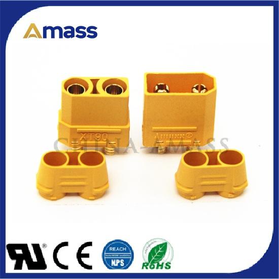 艾迈斯研发生产大电流电源插头XT90H认证齐全