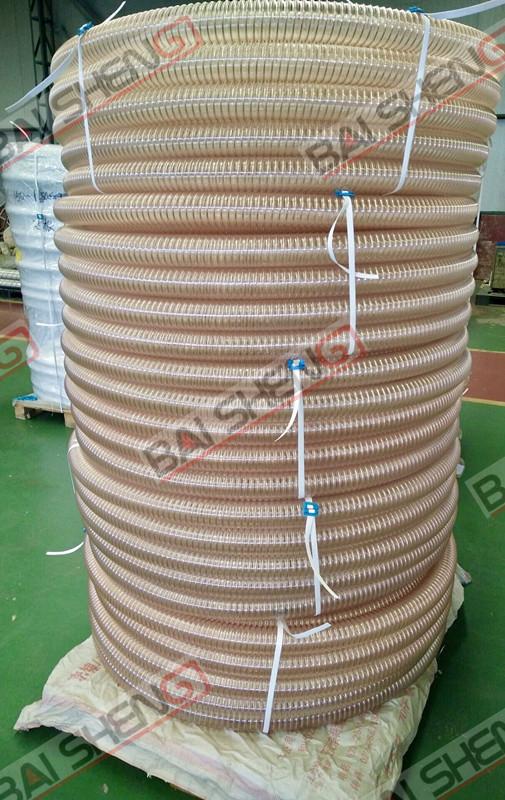 木板厂聚氨酯PU吸尘吸屑管TPU材质工厂直销  产品源头