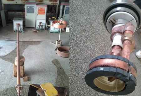 砼泵管淬火设备、内孔淬火机