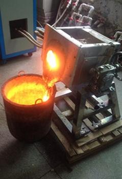 粉末冶金熔炼设备、金属粉末重熔 锡末渣加热重溶电炉