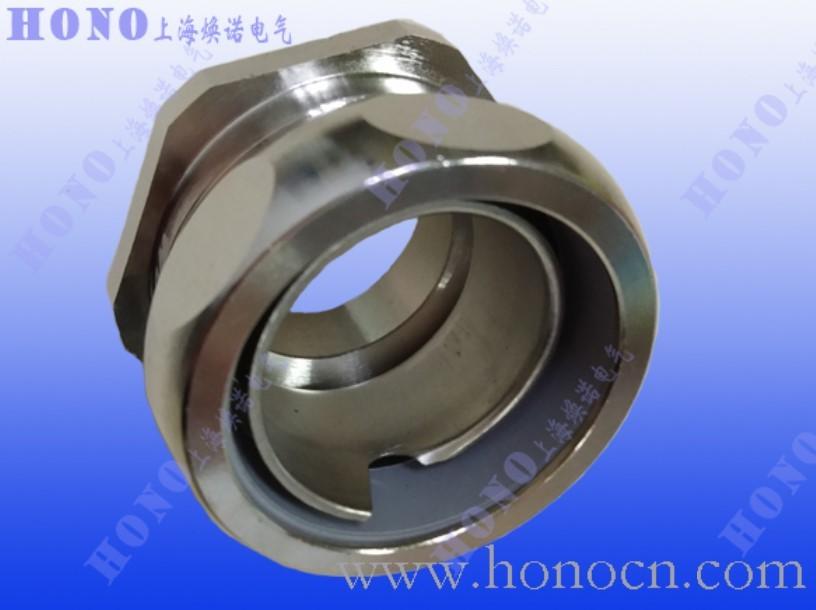 US系列金属软管直接头,HONOUS系列金属软管黄铜镀镍直接头