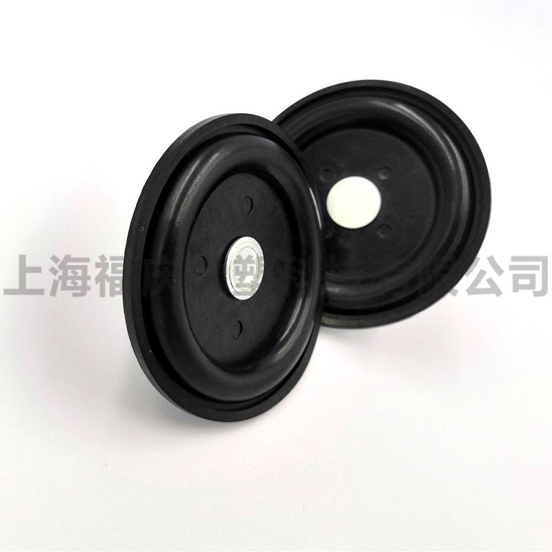 厂家供应橡胶膜片 夹布膜片 来图定制--上海福庆橡塑