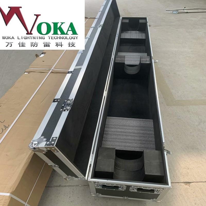 河南定做大型鋁合金箱航空箱 中轉包裝箱鋁箱 帶輪子提手合頁