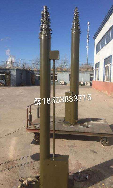15米超轻型手动碳纤维升降杆 直拉锁紧天线升降杆 便携雷达天线升降杆