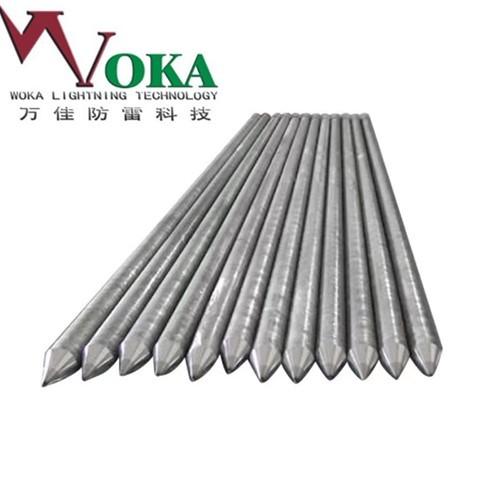 河南直销锌包钢接地极垂直接地体锌包钢接地线覆锌钢接地棒
