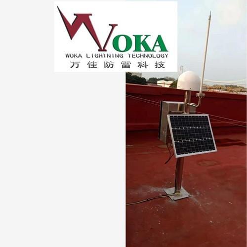 石油石化大型储油罐区防雷电监测预警系统 雷击环境检测器 大气电场仪