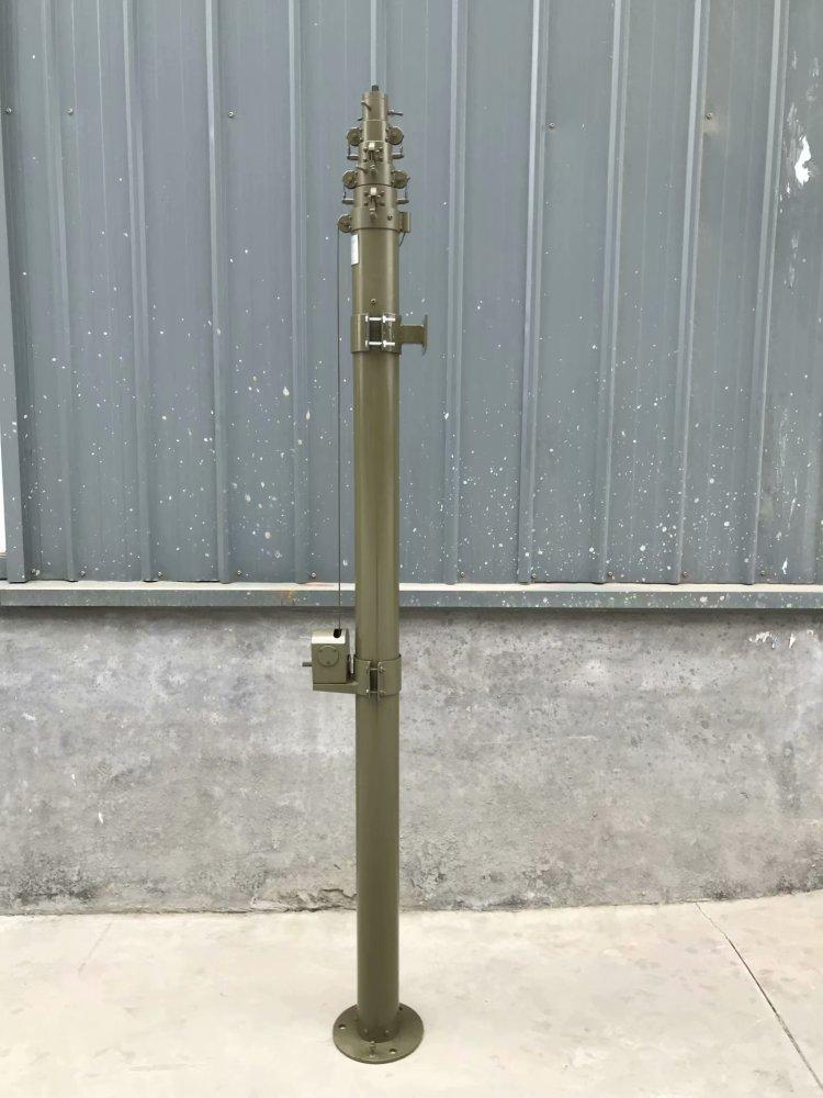 wj20米升降式野战避雷针 升降避雷针 智能升降避雷针