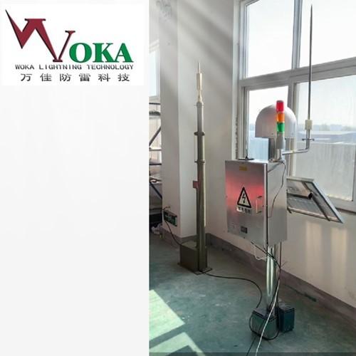 油库区罐区雷电预警防护一体化机动雷电防护与监测平台系统