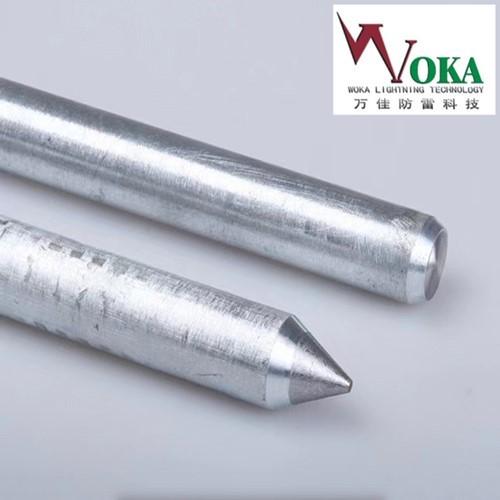 16mm锌包钢圆钢镀锌接地线锌包钢接地极复合接地棒1米