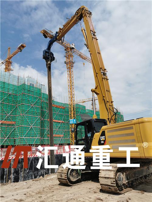 深圳挖掘机小松15米打桩臂原装现货