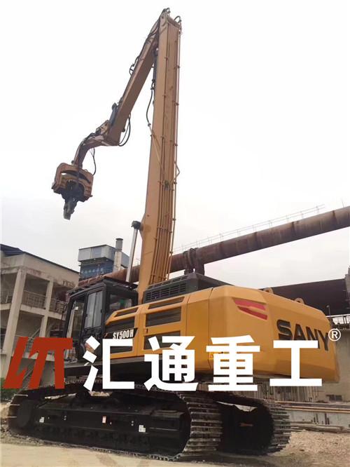挖掘機配件振動打樁錘、液壓打樁機不二之選