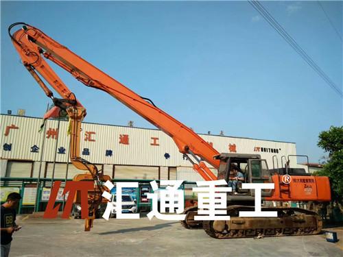 广州挖掘机配件小松打桩臂厂家直销