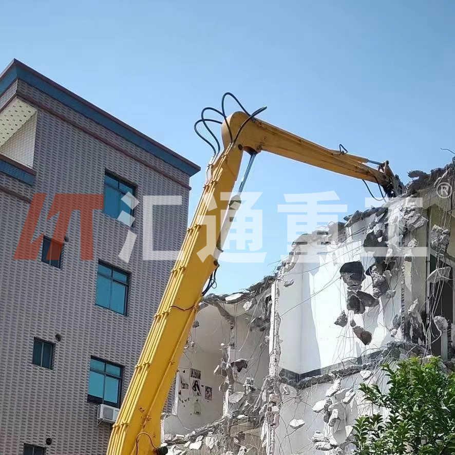 广州挖掘机配件小松打桩臂制造厂家