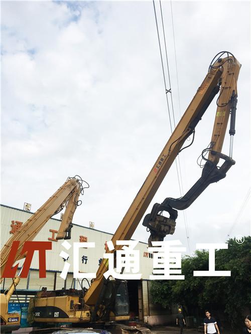 广州挖掘机卡特336,13米打桩臂现货原装现货