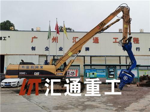 挖掘机打桩臂、液压打桩机安全可靠