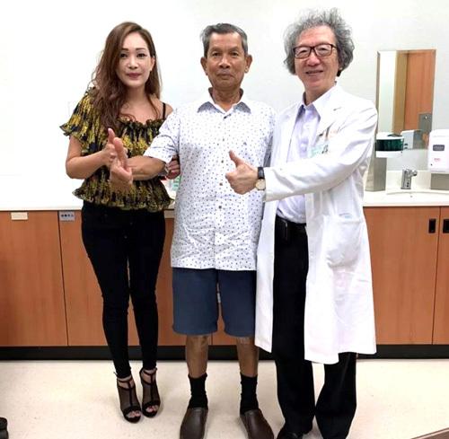 [台湾双膝关节置换案例分享]泰感动:给爸爸最好的礼物