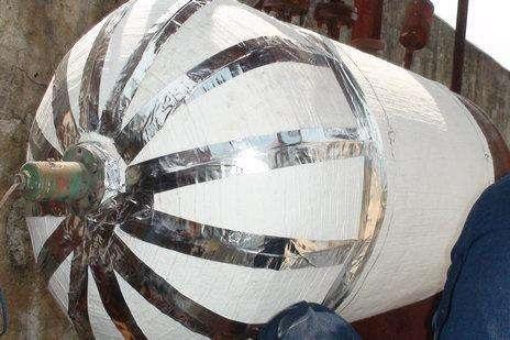 气凝胶隔热毡高温反应釜保温隔热材料 耐高温绝热效果好