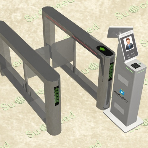 北京立式人脸识别刷卡指纹识别人证核验机M801