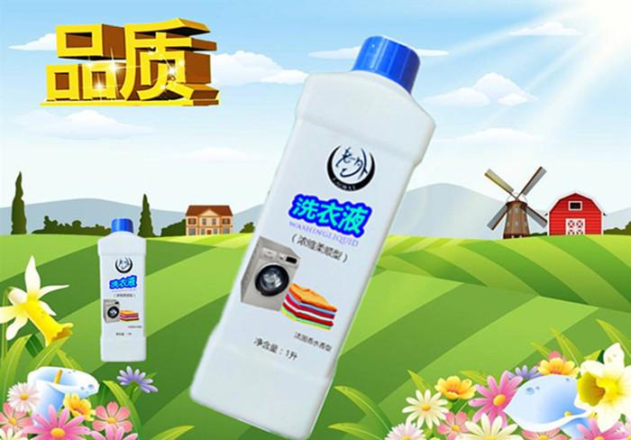 高纯多效衣物洗涤剂 老外品质 浓缩柔顺洗衣液