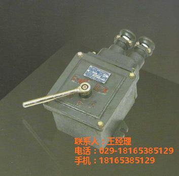 供應 KBH-10/380/127  隔爆型轉換開關