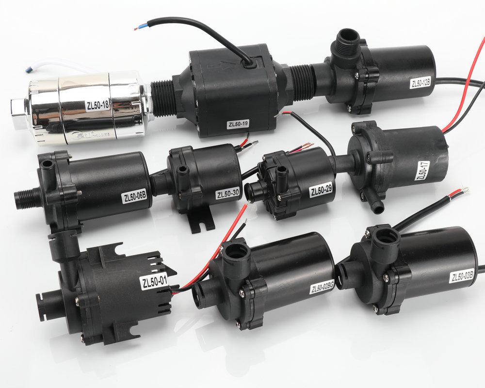 智能马桶微型水泵(图)、无刷管道加压泵、静音小水泵