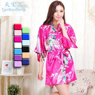 丝绸晨袍款式、临海瑜洁(在线咨询)、嘉兴丝绸晨袍