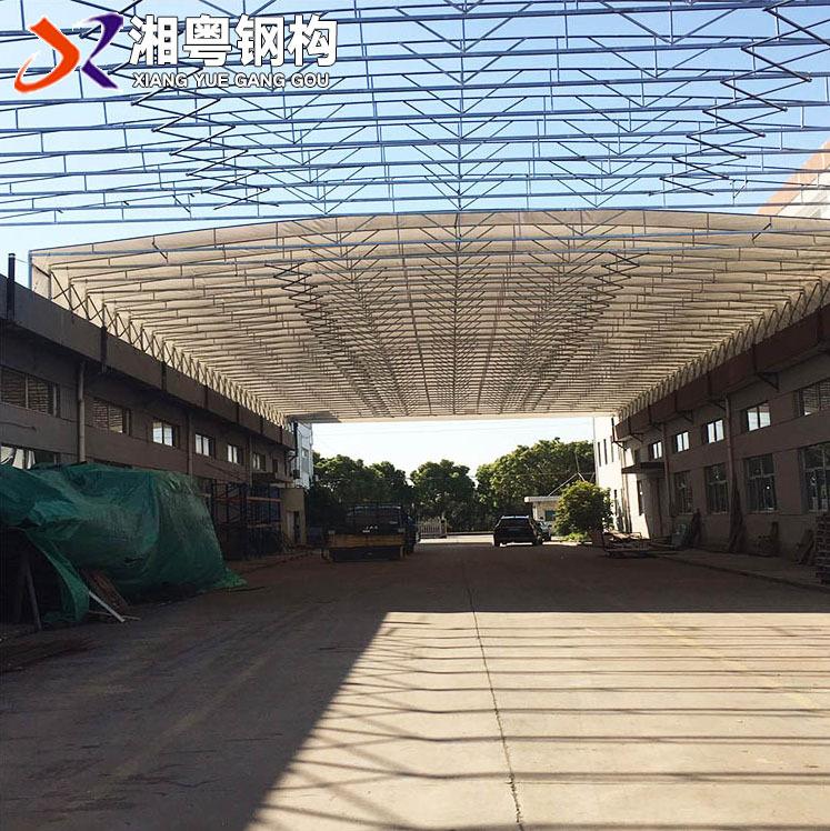 廣東佛山推拉移動篷 大型物流作業篷 江門湘粵廠家定制雨篷遮陽蓬