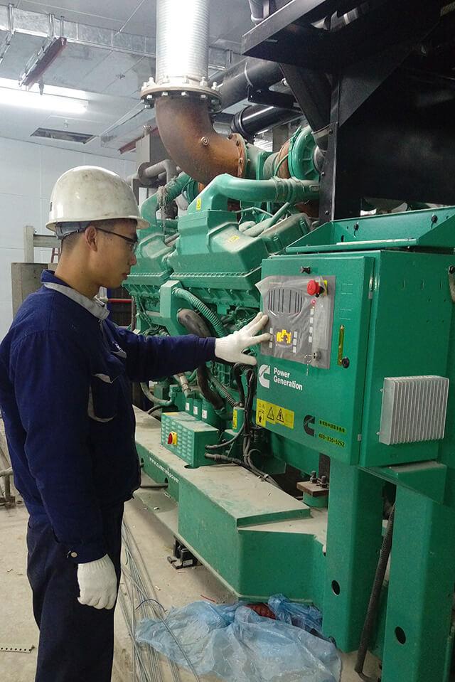康明斯柴油发电机维修、金华发电机、康胜公司