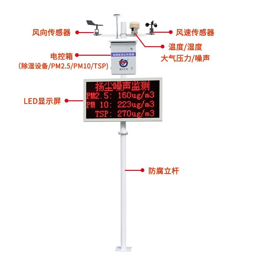 山东济南  泵吸式噪声扬尘监测系统  含ccep  cpa证书