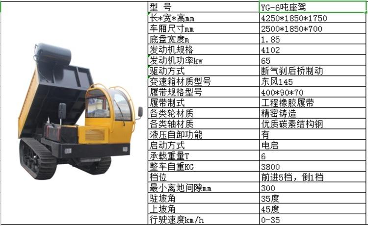 出售履带车多功能四不像工程履带运输车 6T座驾履带车