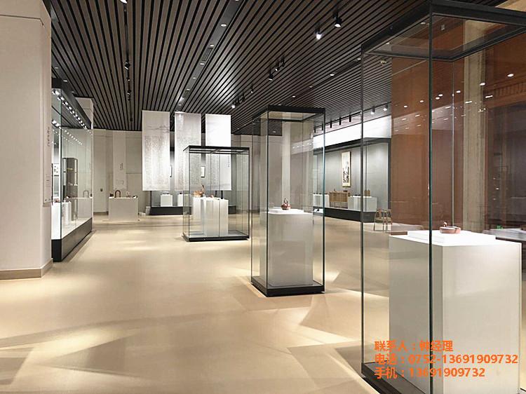 惠州隆城博物馆展示柜定制