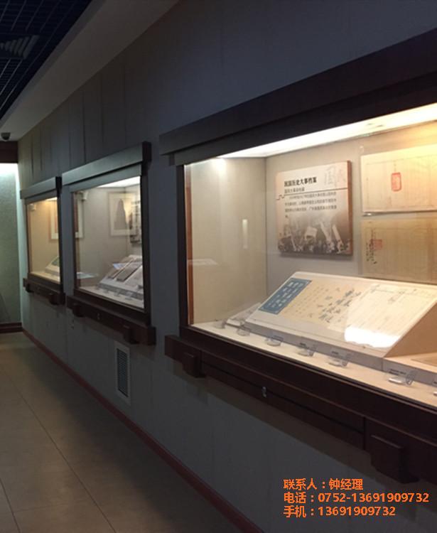 大学科技馆博物馆展示柜