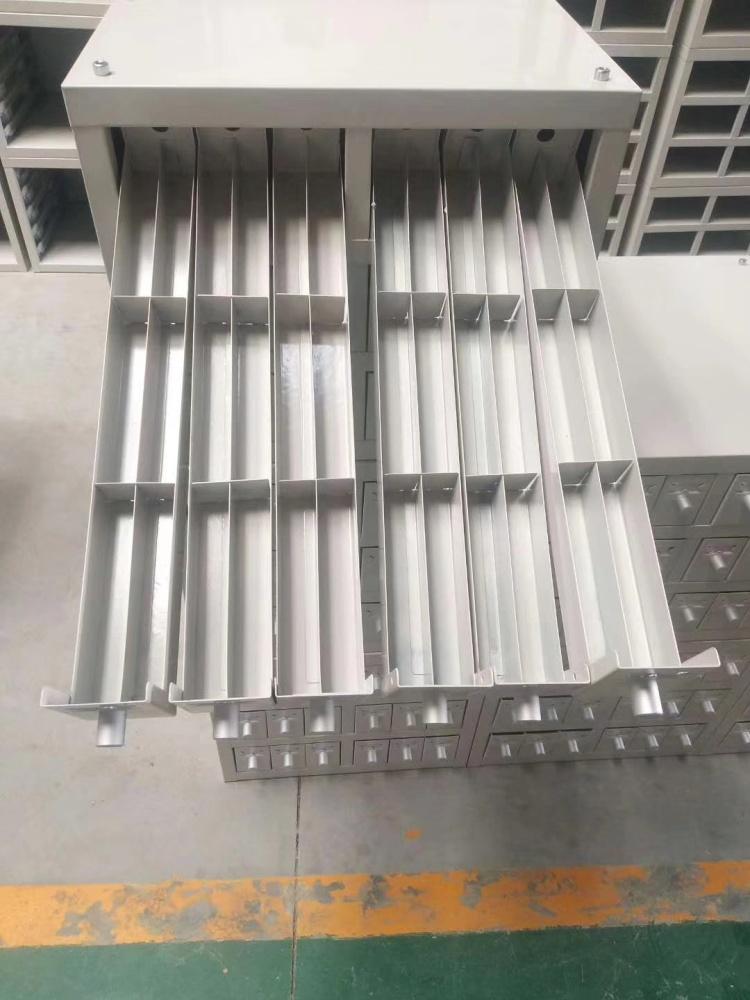 钢制实验室蜡片柜病理切片柜带锁晾片存储柜