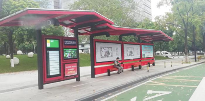 才茂工控机应用于智能公交站系统方案