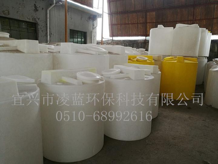 80L圆形PE塑料加药搅拌罐 药剂储存桶 污水处理 耐酸碱