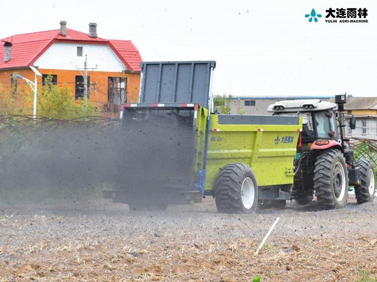 厂家直销土杂肥抛肥机 厩肥施肥机